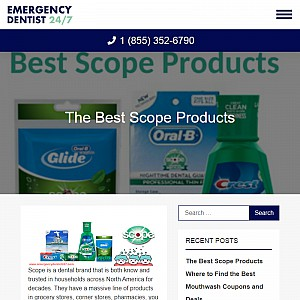 Mouthwash Products from Scope