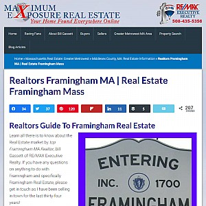 Realtors Framingham Massachusetts