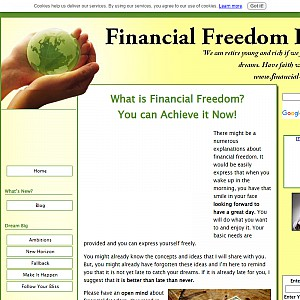 Financial freedom ideas shows you to become wealthy.