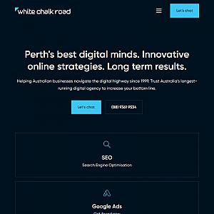 White Chalk Road SEO Perth