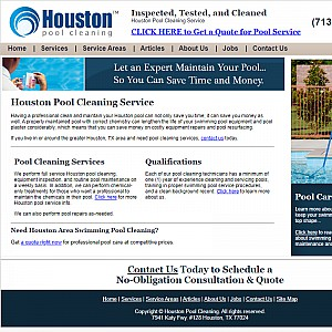 Houston Pool Cleaning