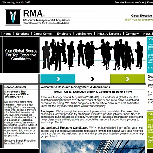 RMA Global Executive Search Recruiting Firm
