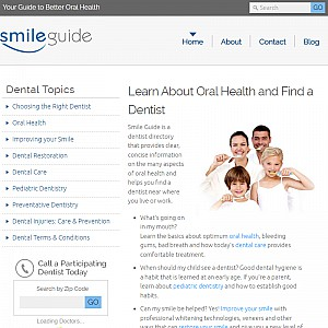Smile Guide Dentist Directory