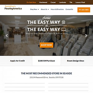 Randall Lee's Flooring America Seaside