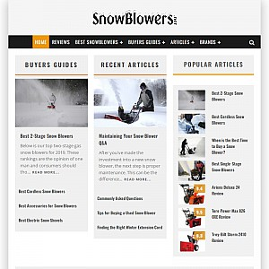 A Guide To Buying a Snowblower