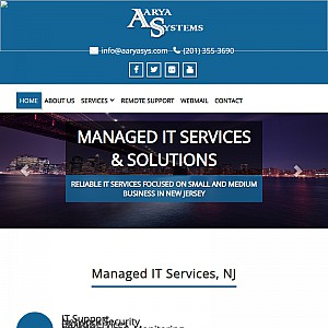 Small business server hosting in New Jersey