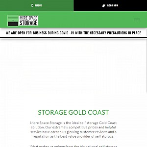 Storage Facilities Gold Coast