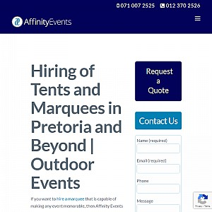 Affinity Events & Hire