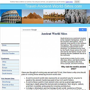 Travel Ancient World Sites