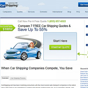CarShipping.com - Auto Transport Quotes & Services