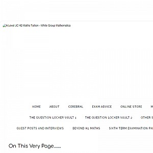 White Group Mathemaics