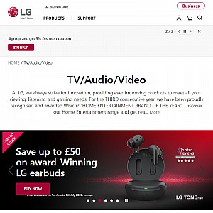 Smart TV Connection From LG