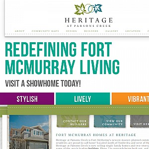 Heritage at Parson's Creek - Alberta Real Estate - New Homes