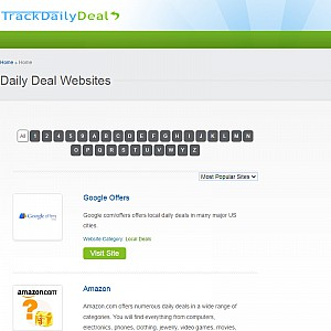 Find Daily Deals - Track Daily Deal