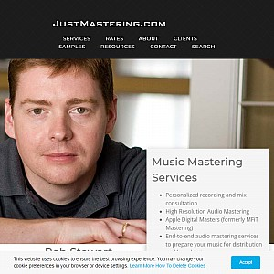 JustMastering.com | Audio and Music Mastering Services