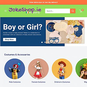Athlone Jokeshop, Costume Hire and Hen Parrty