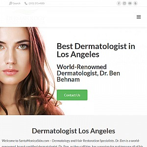 Dermatology and Hair Restoration in Los Angeles