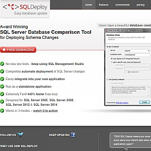 SQL Deploy - SQL Server Database Comparison Tool