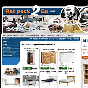 Flat Pack 2 Go - The Online Furniture Store