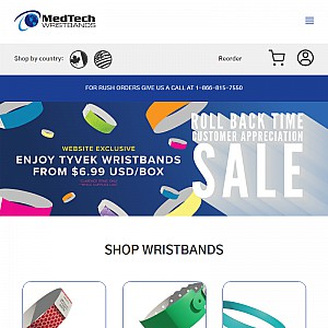 Wristbands for Events – Custom, Tyvek, Plastic ID Wristbands