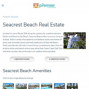 Seacrest Beach real estate