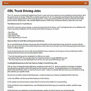 Truck Driving Jobs | TruckingUnlimited.com