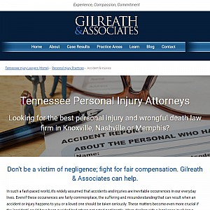 Nashville TN Personal Injury Attorneys