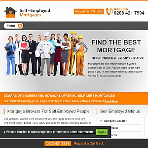 Self Employed Mortgage Brokers UK
