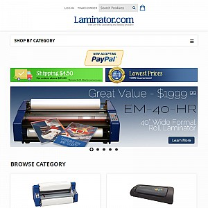 Laminator.com - Quality Laminating Machines and Supplies