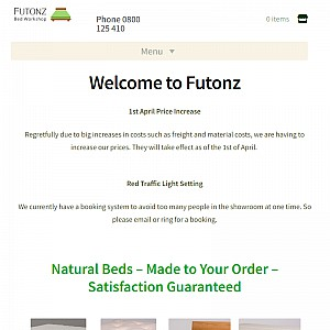 Futonz Mattresses & Beds