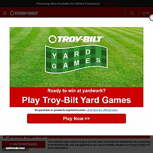 Gas Trimmer |TB625 4-Cycle Curved Shaft Trimmer from Troy-Bilt