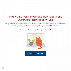 Chicago Computer and laptop repair services, data recovery and business it support.