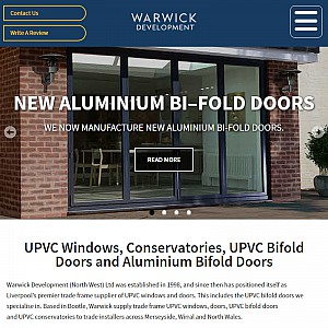 Trace suppliers of uPVC windows and bi fold doors