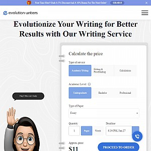 Custom-Written Papers Cheaper Than Anywhere Else! EvolutionWriters Does It Best!