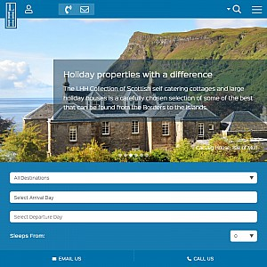Large Holiday Homes Scotland