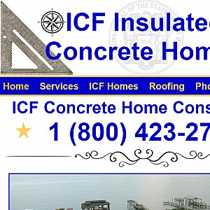 ICF Insulated Concrete Home Builders