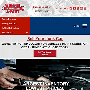 Cash for Your Car - Used Auto Parts
