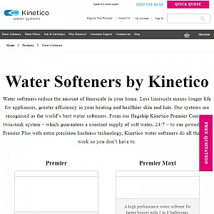 Kinetico home water