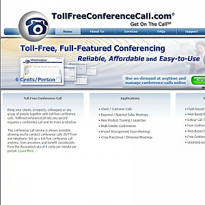 Toll Free Conference Call Service