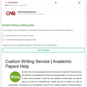 Term Papers Writing Assistance