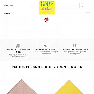 BabyBlankets.com | Personalized Blankets