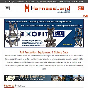 Harness Land.com | fall protection & safety equipment