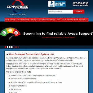 Avaya Business Telephone Systems - Converged Communication Systems