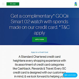 Standard Chartered - Credit Cards