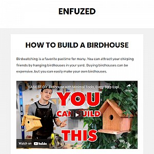 Web Design and Graphic Design Blog Enfuzed