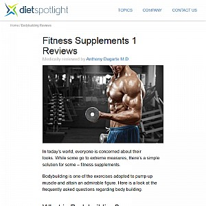 DietSpotLight.com - Bodybuilding