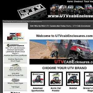 UTV Cab Enclosures