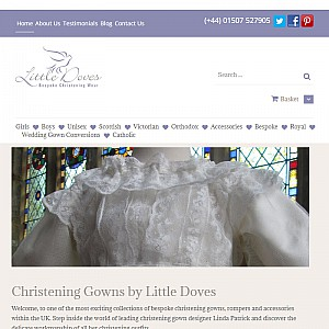 Little Doves Christening Outfits