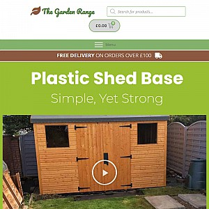 Shed Base - Made from 100% recycled plastic