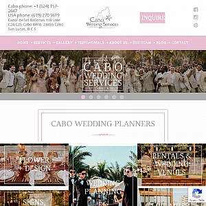Cabo Destination Wedding Planners